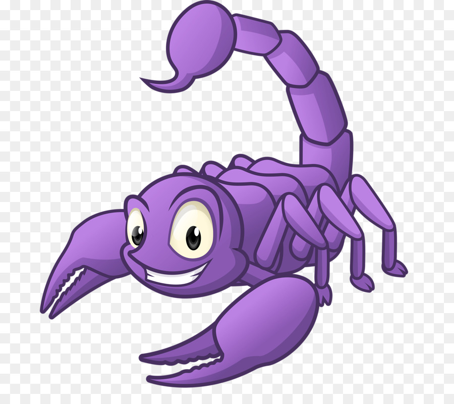 Прикольный рисунок скорпиона