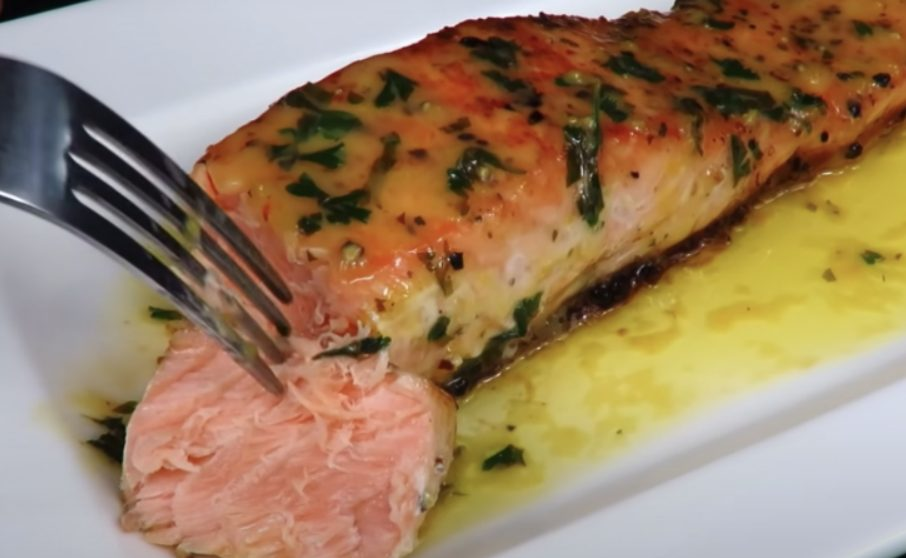 Рыба в лимонном соусе