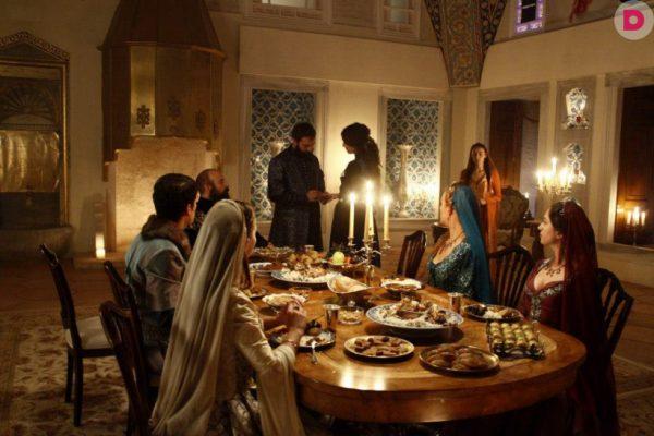 Ужин во дворце Ибрагим-паши