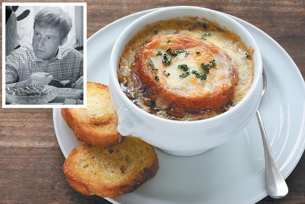 Луковый суп по рецепту Дюма
