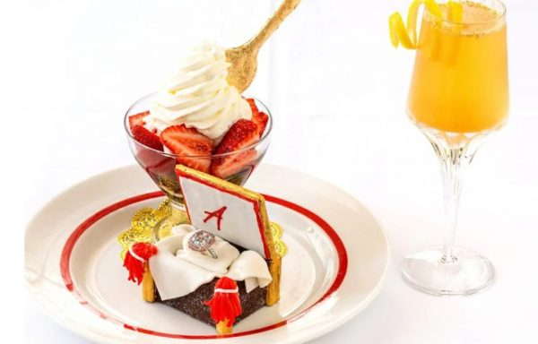Десерт клубника Арно