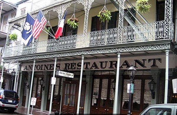 Ресторан Арно в Новом Орлеане