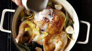Запекаем курицу в кастрюле молока с лимоном – лучший рецепт от Джейми Оливера