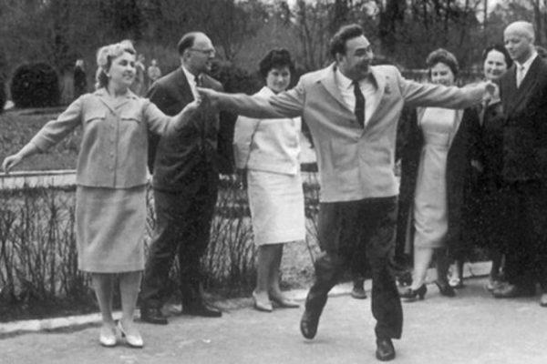 Брежнев в 1962 году