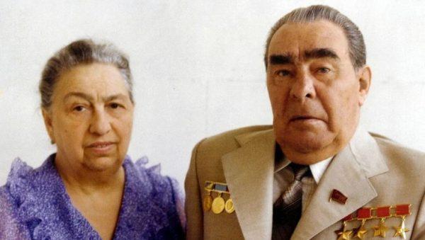 Леонид Ильич и Виктория Петровна