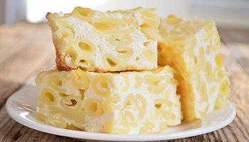 Бабушкина макаронно-творожная запеканка на сковородке, которой все чизкейки мира в подмётки не годятся