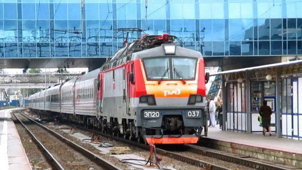 Поезд Москва-Ростов-на-Дону