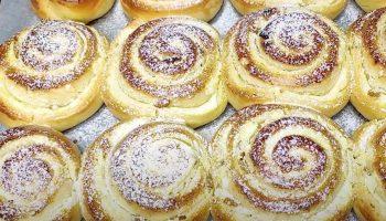 Самые мягкие, пышные и вкусные творожные улиточки с секретным ингредиентом