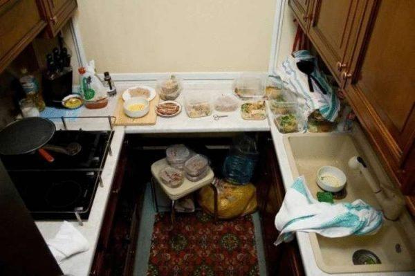 Кухня в вагоне Киркорова. Фото 74.ru