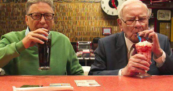Гейтс злоупотребляет диетической колой - в день выпивает до 5 банок. Фото news.myseldon