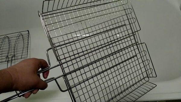 Чистая решетка. Фото Чистка решетки. Фото souspark.ru