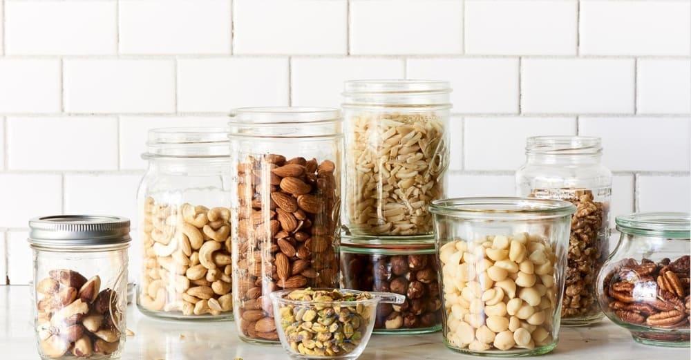 Орехи и бобовые