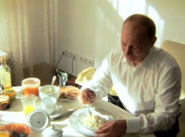 Завтрак президента. Фото lenta.ru