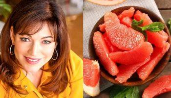 Как в 50 выглядеть на 35: грейпфрутовая экспресс-диета красавицы Алены Хмельницкой
