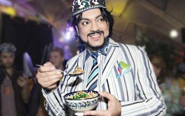 Киркоров ест. Фото banketof.ru