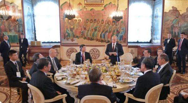 Прием иностранных гостей. Фото armeniasputnik.am