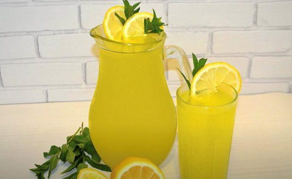 Турецкий лимонад.