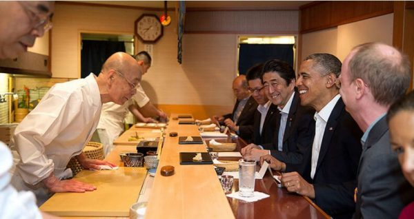 Самый известный японский ресторатор Сукиябаси Дзиро