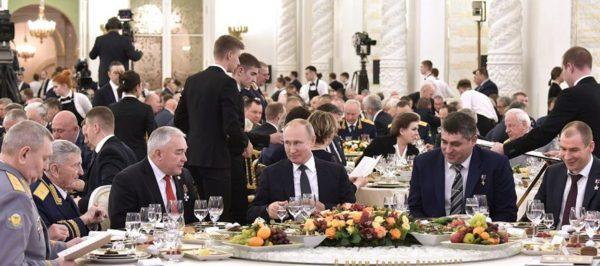 Прием в Кремле. Фото