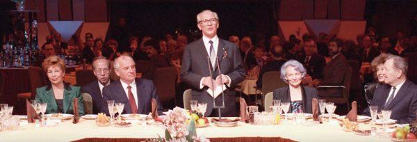 Прием времен Горбачева. Фото