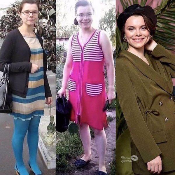 Татьяна Брухунова в юностит и сейчас. Фото wpten.ru