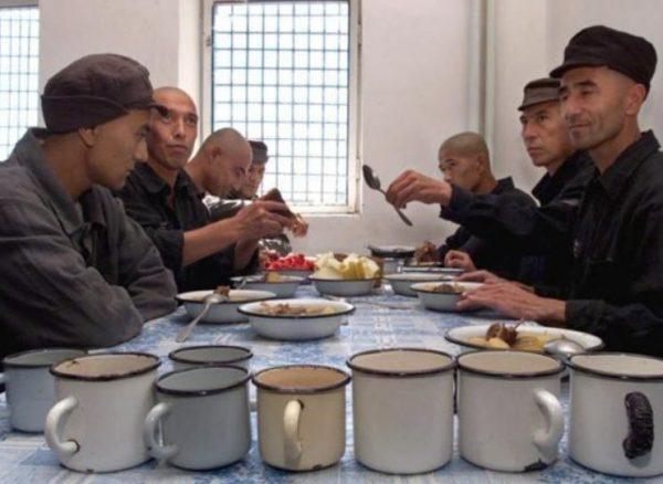 Обед заключенных в Матросской тишине