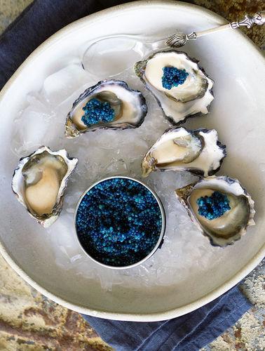 Самая настоящая синяя еда, природная, без искусственных пигментов - удивительные фото