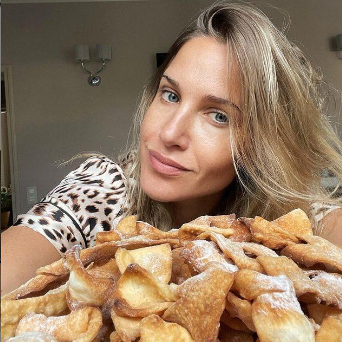 Юлия Ковальчук и её хворост. Фото Инстаграм