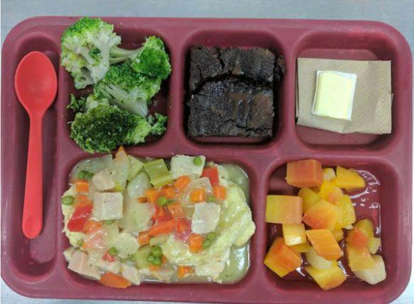 Типичный обед в тюрьме Голландии