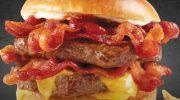 Самый калорийный гамбургер в мире – Беконатор от Wendy's