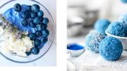 Самая настоящая синяя еда, природная, без искусственных пигментов – удивительные фото