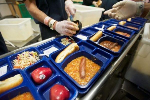 Варианты блюд в тюрьме США (штат Филадельфия)