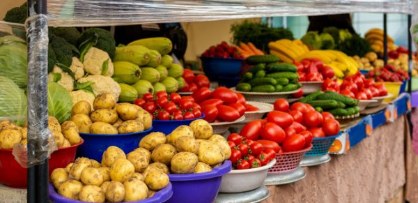 Свежие овощи. Фото liga