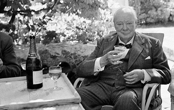 Уинстон Черчилль. Фото winestreet.ru