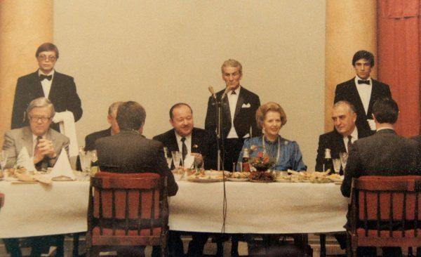 Маргарет Тэтчер в СССР, 1987 год. Фото ed-glezin.livejournal