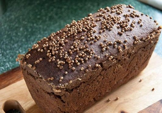 Бородинский хлеб. Фото