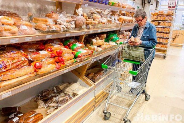 Современный хлебный отдел. Фото habinfo.ru